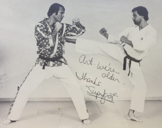 Taken at 1980's seminar and then autographed in 2014